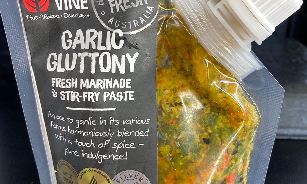 Garlic gluttony