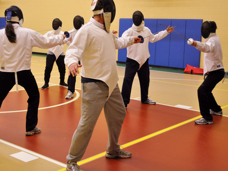An Adult Starting Fencing