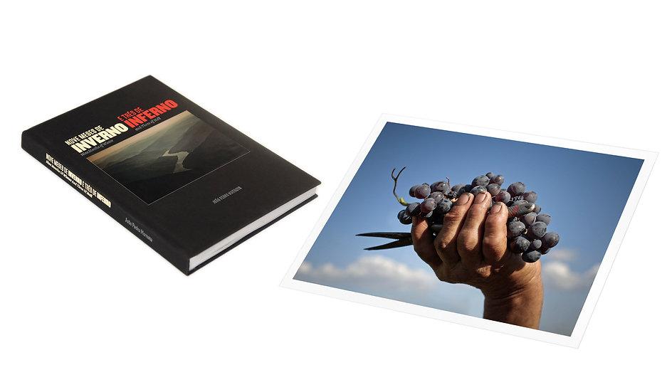 Nove Meses de Inverno e Três de Inferno (assinado) + Acesso ao Filme + Fotografia assinada