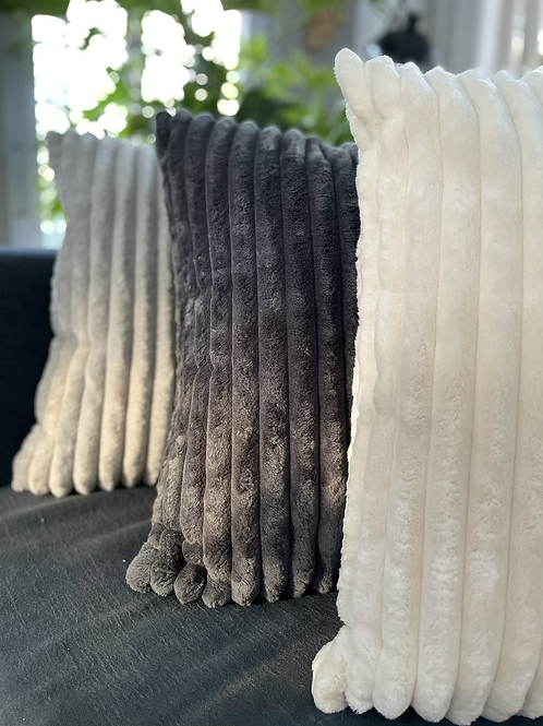 Jumbo Soft Pile Cord cushion covers