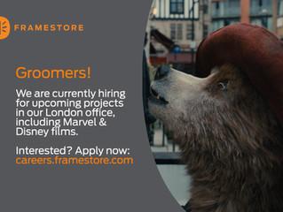Framestore's Groom team in London are looking for Groom TD's