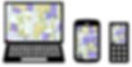 地図を利用するGISソフトウェア