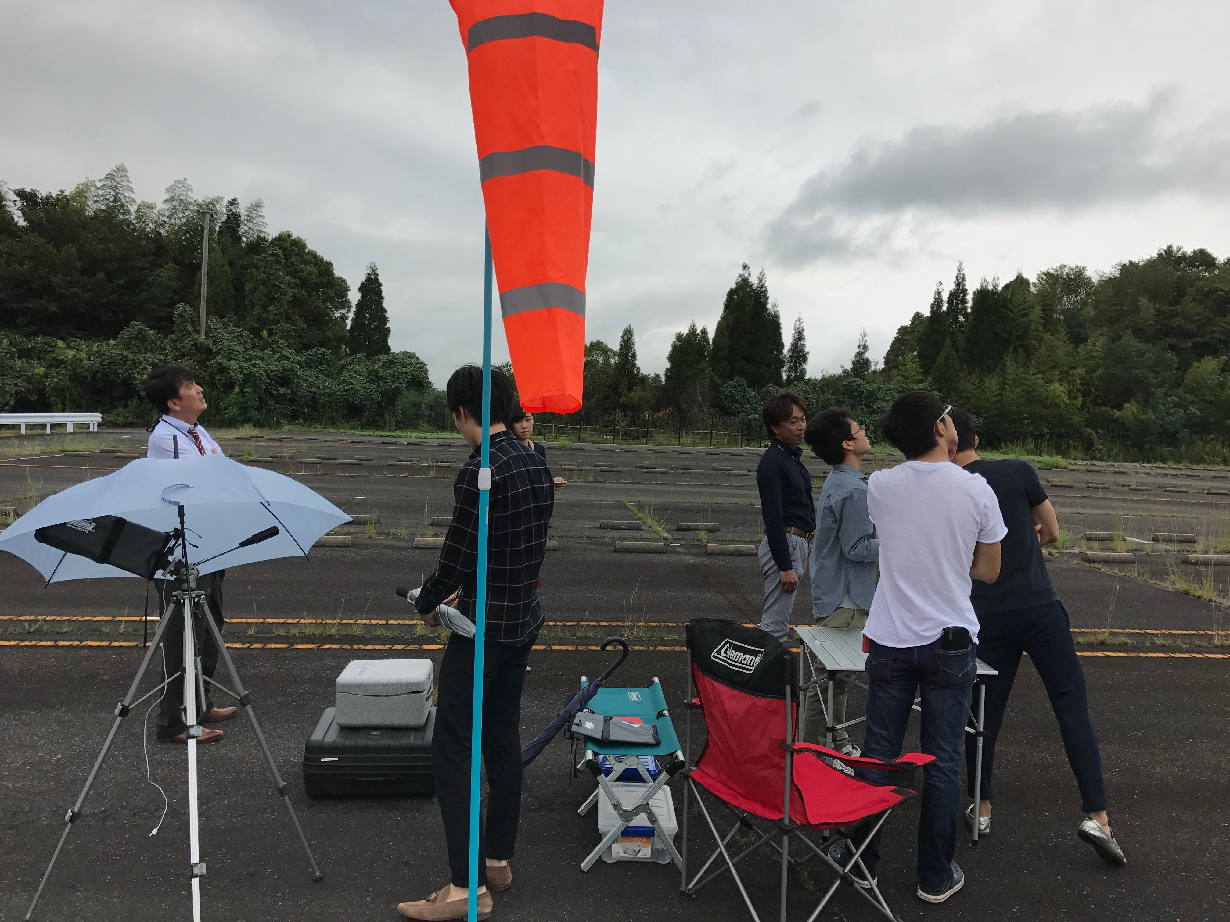 橋梁点検飛行実験5