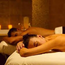 Couples Duo total body hot oil massage