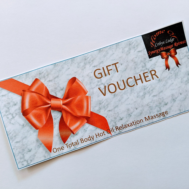 Gift Voucher for a Total Body Holistic Relaxation Massage  (1)
