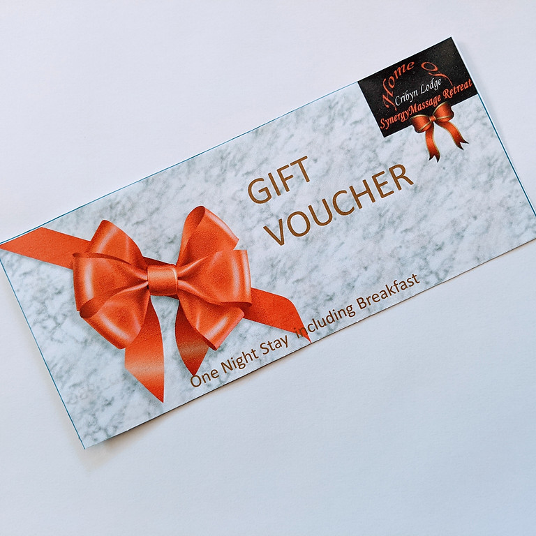Gift Voucher for a one night stay for one/two including Breakfast (1)