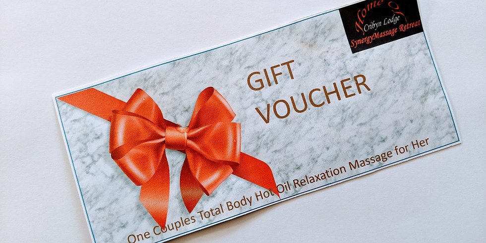 Gift Vouchers for Couples Total Body Relaxation Massage (1)