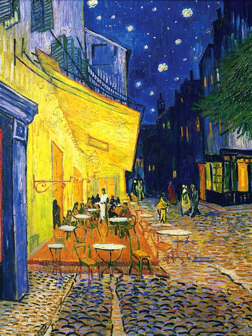 Diamond Dot Painting - Cafe Terrace at Night