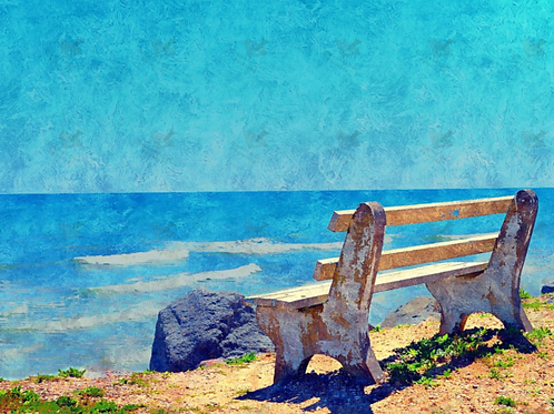 Diamond Dot Painting - View from the Bench
