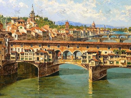 Diamond Dot Painting - Ponte-Vecchio