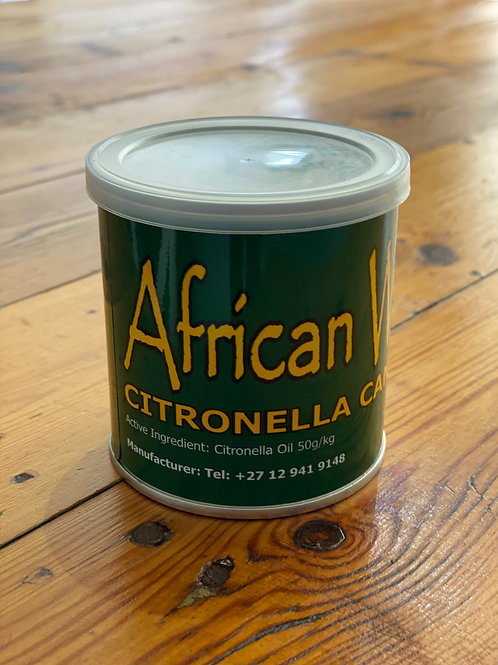 African Wax Citronella Candle in a Can