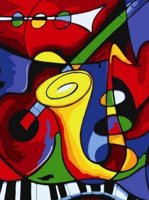 Diamond Dot Painting - Jazz