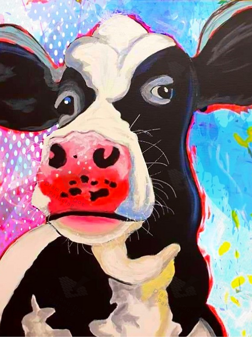 Diamond Dot Painting - Mad Cow