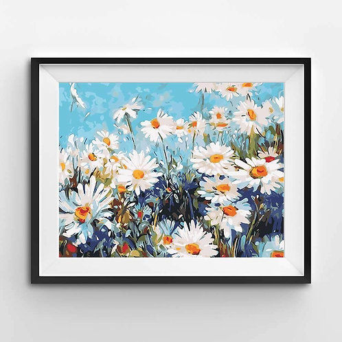 Field of Daisies - Paint By Numbers
