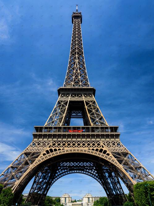 Diamond Dot Painting - Eiffel Tower Colour