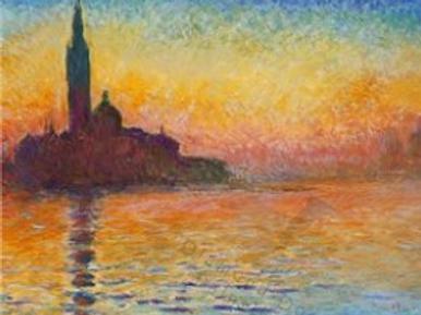 Diamond Dot Painting - San Giorgio Maggiore at Dusk