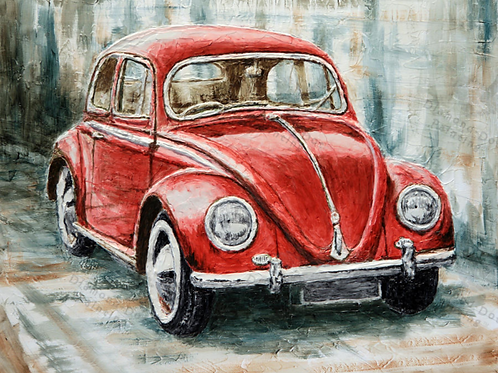 Diamond Dot Painting - Red Bug