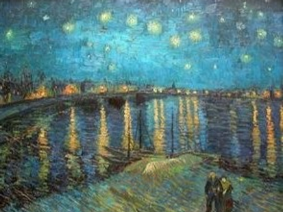 Diamond Dot Painting - The Starry Night Over The Rhone