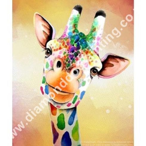 Diamond Dot Painting - Funky Giraffe