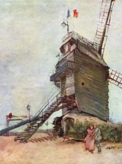 Diamond Dot Painting - Le Moulin de la Galette 2