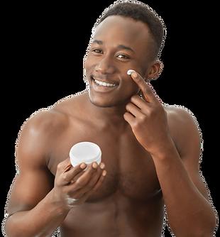 african-man-applying-moisturizing-cream-