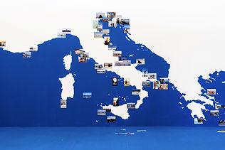 Gea Casolaro, Mare Magnum Nostrum, installazione, Museo Nazionale di Ravenna. Foto Frances