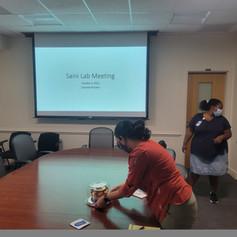 Happy 1st birthday Saini lab