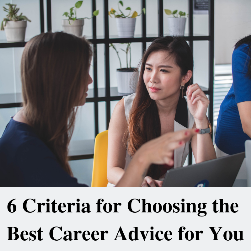 woman giving career advice to another woman