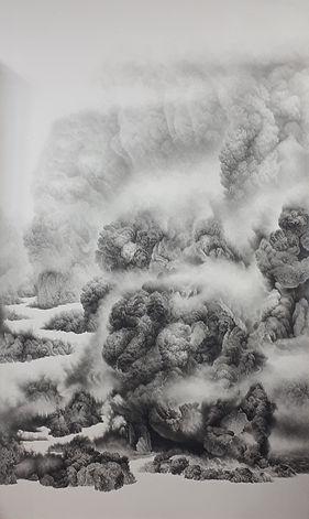 산 자들의 영원한 안식처 Q-L 9 - 장지 위에 아크릴 채색 - 200