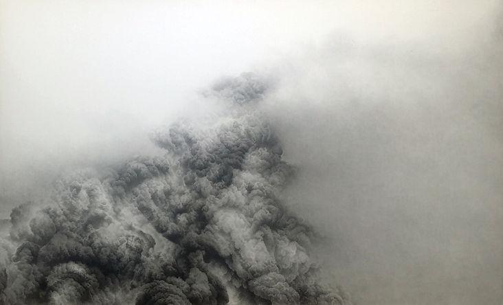 Quantum-Landscape 4 - 장지위에 아크릴채색 - 122x2
