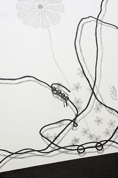Q-piece 19 - 판화지위에 연필 - 30x20cm - 2019.j
