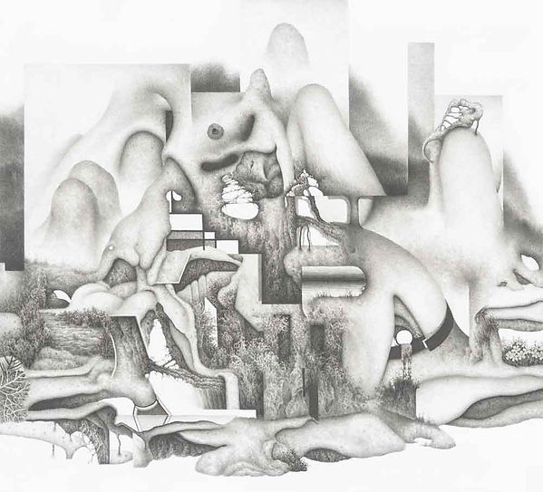 인체산수 Q-L-A 11 (Quantum-Landscape-Anatomy