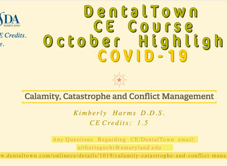 Calamity, Catastrophe and Conflict Mangement CE Course