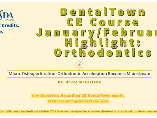 DentalTown Free CE Course Orthodontics