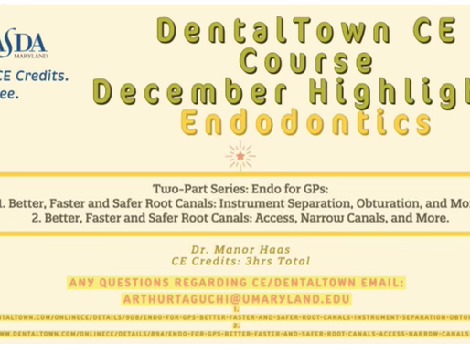 DENTALTOWN CE COURSE Endodontics