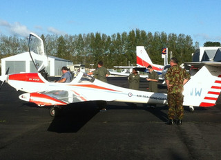 A Good Weekend for the Cadets Flying Camp.