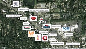 Edgewater Retail Map