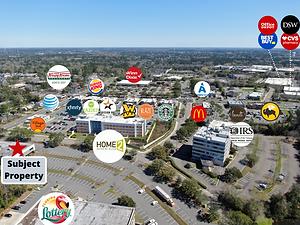 Park Centre Retail Map