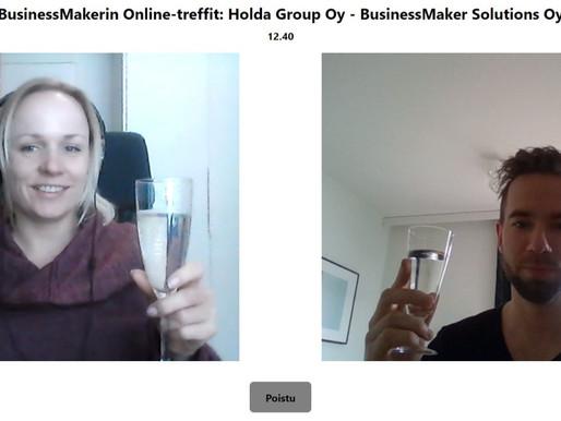 BusinessMakerilta Online-Yritystreffit!