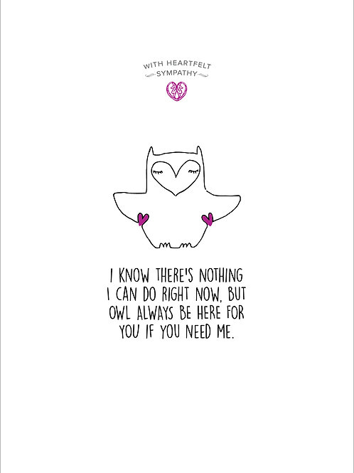 Owl Always Be Here For You Card