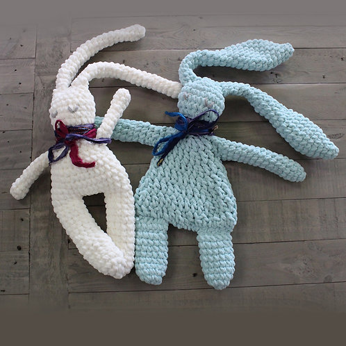 Basil and Bernard the Boho Bunnies - Large