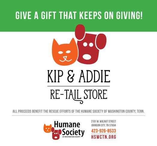 Kip & Addie Store Now Open!
