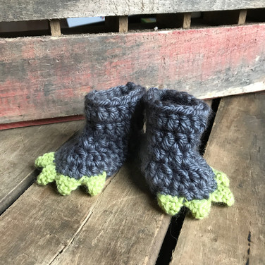 Lil' Monster Booties