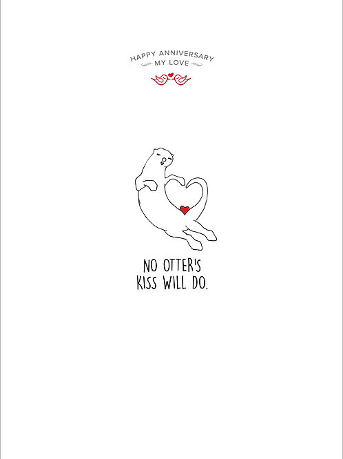 No Otter's Kiss Card