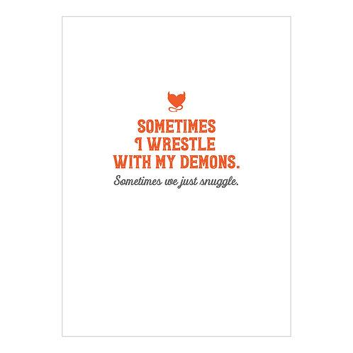 Demons Notecard