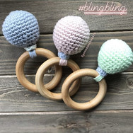 Soft and Sweet Rattle Teether
