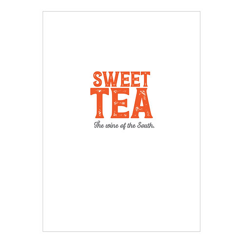 Sweet Tea Notecard