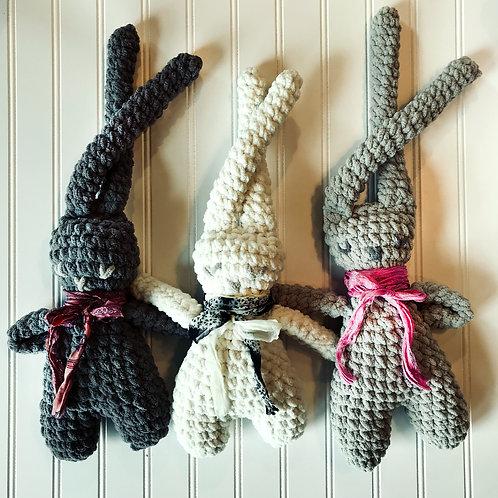 Basil, Blossom and Bronwyn Boho Bunnies - Small