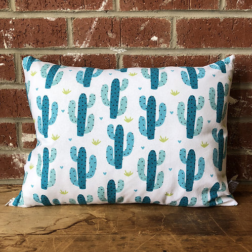 Colorful Cacti 12 x 16 Pillow
