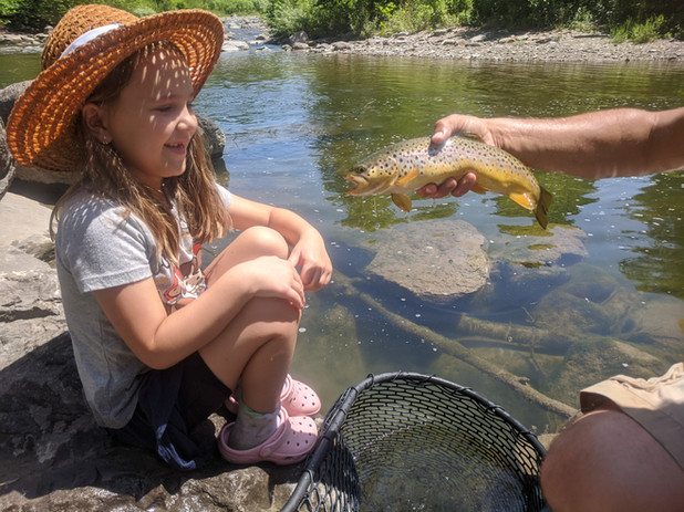 kid learn to fly fish_trout fishing_Buff